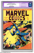 Golden Age (1938-1955):Superhero, Marvel Mystery Comics #2 (Timely, 1939) CGC Apparent VF+ 8.5 Moderate (P) Off-white to white pages. This issue is ranked amo...