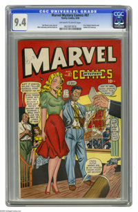 Marvel Mystery Comics #87 (Timely, 1948) CGC NM 9.4 Off-white to white pages. Here's the highest-graded copy CGC has cer...