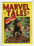 Golden Age (1938-1955):Horror, Marvel Tales #93 (Atlas, 1949) Condition: VF-. The first issue ofthis series continued the numbering from the legendary M...