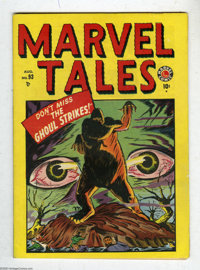 Marvel Tales #93 (Atlas, 1949) Condition: VF-. The first issue of this series continued the numbering from the legendary...
