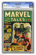 Golden Age (1938-1955):Horror, Marvel Tales #96 (Atlas, 1950) CGC VF- 7.5 Cream to off-whitepages. It started as Marvel Comics, one of the most import...