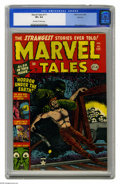 Golden Age (1938-1955):Horror, Marvel Tales #111 Spokane pedigree (Marvel, 1953) CGC VF+ 8.5Off-white to white pages. A miner gets the shaft on this spook...