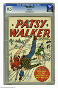 Golden Age (1938-1955):Romance, Patsy Walker #16 (Atlas, 1948) CGC VF+ 8.5 Off-white pages. This isthe only copy of this issue that CGC has certified as of...