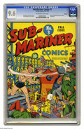 Golden Age (1938-1955):Superhero, Sub-Mariner Comics #3 Chicago pedigree (Timely, 1941) CGC NM+ 9.6 Off-white to white pages. And you thought we'd run out of ...