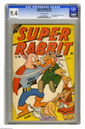 Golden Age (1938-1955):Funny Animal, Super Rabbit #10 (Timely, 1947) CGC NM 9.4 Off-white pages. This isthe only copy of this issue that CGC has certified to da...