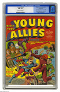 Golden Age (1938-1955):Superhero, Young Allies Comics #1 San Francisco pedigree (Timely, 1941) CGCNM+ 9.6 Off-white to white pages. Overstreet lists this iss...