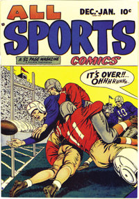 All Sports Comics #2 Mile High pedigree (Hillman Publications, 1948) Condition: NM. This is the first time we had seen t...