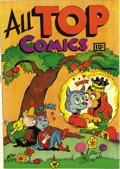 Golden Age (1938-1955):Superhero, All Top Comics #1 (Fox Features Syndicate, 1946) Condition: NM-. Funny animal book with first appearances of Cosmo Cat and F...
