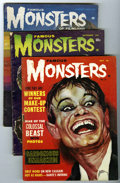 Magazines:Horror, Famous Monsters of Filmland Group (Warren, 1962-65) Condition: Average VG/FN.... (Total: 7 Comic Books)