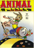 Golden Age (1938-1955):Funny Animal, Animal Comics #9 File Copy (Dell, 1944) Condition: NM+. The cuteUncle Wiggily cover is by Walt Kelly, as is the Elephunnies...