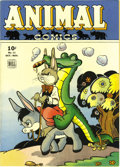 Golden Age (1938-1955):Funny Animal, Animal Comics #11 File Copy (Dell, 1944) Condition: Apparent VF/NM.Pogo appearance. Walt Kelly cover and art. Color touch o...