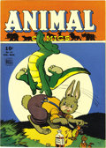 Golden Age (1938-1955):Funny Animal, Animal Comics #13 File Copy (Dell, 1945) Condition: Apparent NM.Pogo appears here, and he's drawn by Walt Kelly, who also d...