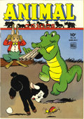 Golden Age (1938-1955):Funny Animal, Animal Comics #15 File Copy (Dell, 1945) Condition: Apparent NM.Walt Kelly is credited with this issue's cover art featurin...