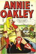 Golden Age (1938-1955):Romance, Annie Oakley #2-4 Mile High pedigree Group (Timely, 1948). Thisseries was about romance and humor, not about sharpshootin',...(Total: 3 Comic Books)
