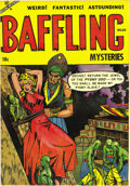 """Golden Age (1938-1955):Horror, Baffling Mysteries #20 File Copy (Ace, 1954) Condition: NM-.Overstreet gave its """"classic"""" designation to this bondage cover..."""