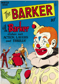 Golden Age (1938-1955):Miscellaneous, The Barker #2 Mile High pedigree (Quality, 1946) Condition: NM-. Carnie Calahan is the Barker, a character who not only took...