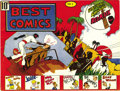 """Golden Age (1938-1955):Miscellaneous, Best Comics #1 (Better Publications, 1939) Condition: FN/VF. This is the first time we've seen this comic, which is rated """"s..."""