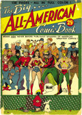 Golden Age (1938-1955):Superhero, Big All-American Comic Book #1 (DC, 1944) Condition: GD+. Even at 250% of the usual comic book price, this was quite a buy, ...