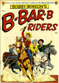 Golden Age (1938-1955):Western, Bobby Benson's B-Bar-B Riders #1 Mile High pedigree (MagazineEnterprises, 1950) Condition: NM. Overstreet calls this issue ...