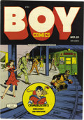 Golden Age (1938-1955):Crime, Boy Comics #19 Mile High pedigree (Lev Gleason, 1944) Condition: VF/NM. Charles Biro was one of the great writers in the his...