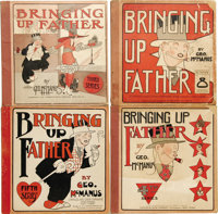 Bringing Up Father #3-5 and 8 Group (Cupples & Leon, 1919-1925) Condition: Average GD. George McManus art graces...