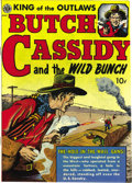 Golden Age (1938-1955):Western, Butch Cassidy #1 Mile High pedigree (Avon, 1951) Condition: NM-.The great Everett Raymond Kinstler drew this issue's cover ...