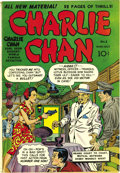 Golden Age (1938-1955):Crime, Charlie Chan #1 Mile High pedigree (Crestwood/Headline, 1948) Condition: FN/VF. Simon and Kirby drew this issue's cover and ...