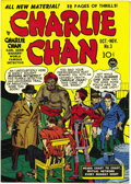 Golden Age (1938-1955):Crime, Charlie Chan #3 Mile High pedigree (Crestwood/Headline, 1948) Condition: NM. Simon and Kirby contributed cover and interior ...