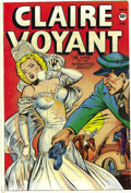 Golden Age (1938-1955):Crime, Claire Voyant #3 (Leader, 1947) Condition: FN/VF. Jack Kamen drew this book's bridal cover. This issue was mentioned in the ...