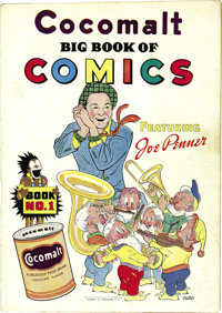 """Cocomalt Big Book of Comics #1 (Chesler, 1938) Condition: FN. This promotional comic received a scarcity rating of """"..."""