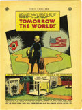 Golden Age (1938-1955):Non-Fiction, Comic Cavalcade Giveaway #nn Tomorrow The World (DC, 1945)Condition: VF. A suburban father welcomes his German nephew toth...