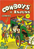 Golden Age (1938-1955):Funny Animal, Cowboys 'n' Injuns #1 and 2 Mile High pedigree Group (Compix,1946). Try finding these funny-animal Western comics at all, t...(Total: 2 Comic Books)