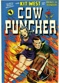 Golden Age (1938-1955):Western, Cow Puncher Comics #5 Mile High pedigree (Avon, 1949) Condition:NM+. With amazing white pages on the inside and near-perfec...