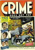 Golden Age (1938-1955):Crime, Crime Does Not Pay #22 Mile High pedigree (Lev Gleason, 1942) Condition: NM-. It simply does not get better than this for th...