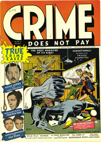 Crime Does Not Pay #22 Mile High pedigree (Lev Gleason, 1942) Condition: NM-. It simply does not get better than this fo...