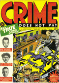 Golden Age (1938-1955):Crime, Crime Does Not Pay #23 Mile High pedigree (Lev Gleason, 1942) Condition: VF/NM. This is the third most-valuable crime comic ...