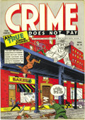 Golden Age (1938-1955):Crime, Crime Does Not Pay #30 Mile High pedigree (Lev Gleason, 1943) Condition: NM+. These early crime books were rarely preserved ...