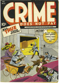 Golden Age (1938-1955):Crime, Crime Does Not Pay #31 Mile High pedigree (Lev Gleason, 1944) Condition: Apparent NM-. Nice off-white to white pages made th...
