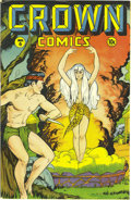 Golden Age (1938-1955):Adventure, Crown Comics #6 Mile High pedigree (Golfing, Inc., 1946) Condition:VF/NM. Matt Baker is credited with cover and interior ar...