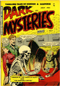Golden Age (1938-1955):Horror, Dark Mysteries #7 (Master Publications, 1952) Condition: VF/NM.This pre-Code horror book has a dismemberment story as well ...