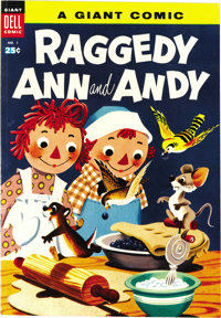 Dell Giant Comics Raggedy Ann & Andy #1 File Copy (Dell, 1955) Condition: NM. When you see a copy of this issue...