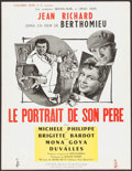 """Movie Posters:Foreign, His Father's Portrait (Columbia, 1953). French Petite (19.75"""" X 25.75""""). Foreign.. ..."""