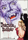 "Movie Posters:Horror, Dracula Has Risen from the Grave (Warner Brothers, 1969).Autographed German A1 (23.25"" X 33""). Horror.. ..."