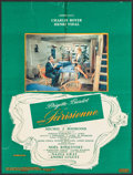 """Movie Posters:Foreign, La Parisienne (Cinedis, 1957). French Lobby Poster (18.75"""" X 25.25""""). Foreign.. ..."""