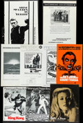 Movie Posters:Miscellaneous, Pressbook Box Lot (Various, 1960s-1970s). Pressbooks (150+)(Multiple Pages, Various Sizes). Miscellaneous.. ... (Total: 150Items)