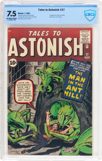 Tales to Astonish #27 (Marvel, 1962) CBCS VF- 7.5 Off-white to white pages