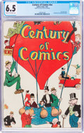 Platinum Age (1897-1937):Miscellaneous, Century of Comics #nn (Eastern Color, 1933) CGC FN+ 6.5 Cream tooff-white pages....