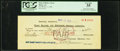 Obsoletes By State:Arizona, Bisbee, AZ- Bank of Bisbee Check $14 Mexican Silver Nov. 3, 1906....