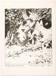 Frank Frazetta Lord of the Rings Portfolio Print #25/1000, (Middle Earth, 1975)