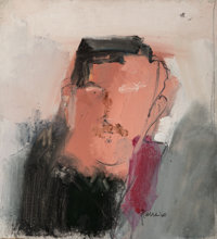 Larry Rivers (1923-2002) Portrait of an Artist (Howard Kanovitz), 1960 Oil on canvas laid on panel